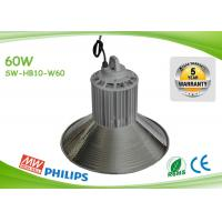 Cheap Indoor 125lm / W 60w Led High Bay Lights Commercial High Bay Lighting for sale
