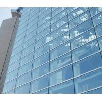 Cheap Double Glazed Unitized Glass Curtain Wall with 8mm+12A+8mm coated glass for sale