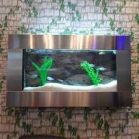 Cheap Wall Aquarium, Stainless Steel Design for sale