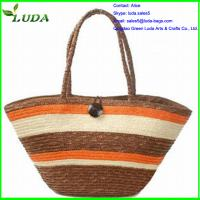 Cheap Best selling wheat straw handbags for sale