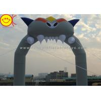 Cheap Holiday Inflatable Arch Dragon Nylon for Halloween , Inflatable Entrance Christmas Arch for Rental for sale