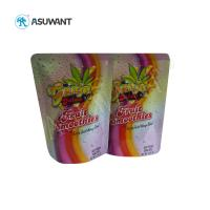 Custom Printed Food Packaging Bags Zip Lock Aluminum Foil Laminated With Logo