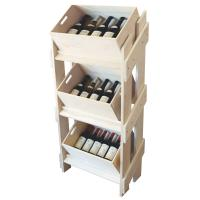 China 18 / 25mm MDF Solid wooden Display Stands Fire Proof Paint , Shoe Displays on sale