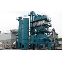 Cheap 120μM  Film Thickness Asphalt Batching Plant With 37KW Windlass Winch System for sale