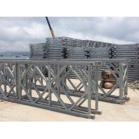 Prefabricated Q345B Single Lane Bridge , Hot Dip Galvanized Steel Bridge