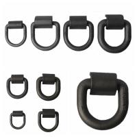Cheap Customized Safety D Rings Steel Heavy Duty Weld Forged Mounting Buckle for sale