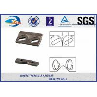 Quality 9220 Steel Plate Weldable Upper Rail Clip With Rubber Nose and Base Clip for wholesale