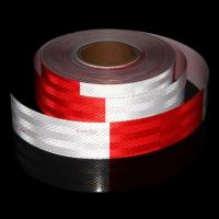 Cheap Trailer Reflective Conspicuity Tape , Prismatic 6 Inch Class 1 Reflective Tape for sale