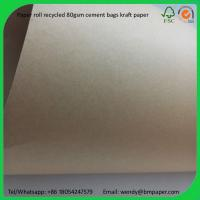 Cheap BMPAPER White Coated Kraft Liner/ Paperboard  for cement bags for sale