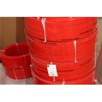 Cheap HighTensile And Tear Strength  Red Polyurethane V Belt  for Conveyor  Floor And Roof  Tiles Conveying for sale