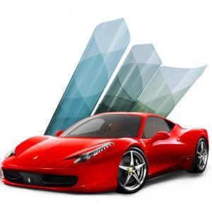 Cheap Nano Ceramic Auto Window Tint Film , UV Protection Blue Solar Window Tint for sale