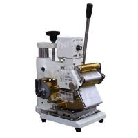 Cheap Adjustable Manual Roller Hot Stamping Machine 400mm Thickness for sale