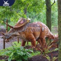 Cheap Outside Mechanical Realistic Life Size Dinosaur Models For Exhibit for sale
