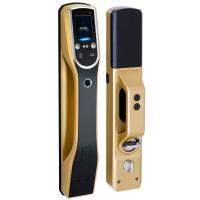 Cheap LCD Screen Biometric Recognition Products Face Recognition Door Lock IR Sensor for sale