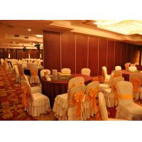 China Office HPL Melamine Noise Absorbing Panels Movable And Operable Partition System on sale