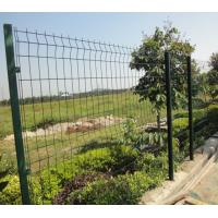 China Heavy Duty Wire Fence Panels Galvanized Steel Fence Panels For Security on sale