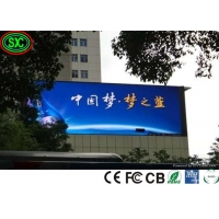 China Waterproof Giant P10 Led Video Wall Panel Screen fixed Advertising Outdoor Full Color Led Display on sale