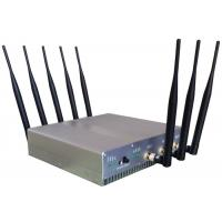 Cheap Omni Directional Cell Phone Signal Jammer with UPS battery For Schools , 210*50*185mm wholesale