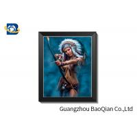 Cheap Knight Theme ODM 3D Lenticular Sheet Picture With PVC Frame 30 X 40 CM for sale