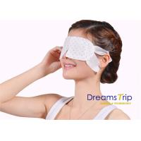 Cheap Disposable Fatigue Relief Steam Eye Mask Unscented Moisturizing warm Relax SPA for sale