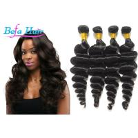 Cheap Mixed / Highlighted Grade 6A Virgin Hair Brazilian Loose Wave Hair Bundles for sale