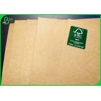 China Wood Pulp 300g 350g Natual Brown Kraft Food Wrapping Paper In Roll Package on sale
