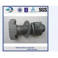 Cheap Grade 10.9 Material 40Cr Railway Bolts Track Fish Bolt UIC864-2 for sale