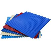 Cheap color coated steel roof sheets price per sheet, Thin Corrugated Steel Sheet for sale