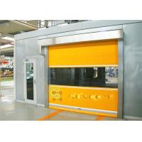 China Colorful PVC Door Frame High Speed Industrial Doors Used In Chemical Industry on sale