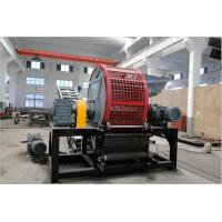 China Tyre Strip Cutter Tyre Shredding Equipment For Waste Tire Recycling Line on sale