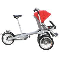 Cheap GTZ German Technical Baby Stroller Bike Plastic / PU / PVC Baby Tricycle for sale