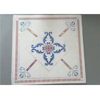 Cheap High Intensity White PVC Ceiling Tiles For Bathrooms Various Colors / Patterns for sale