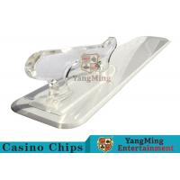 Cheap Poker Playing Cards Dedicated Brand Shovel Acrylic Plastic Factory New Custom Shape for sale