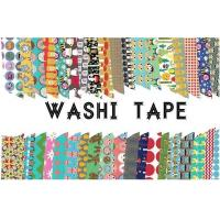 Cheap Adhesive Scotch Tape Label Waterproof Masking Printed Washi Paper for sale