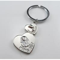 Cheap heart shaped cheap personalized souvenir keychains for egypt for sale