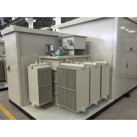 Cheap 35kV Oil  /  Dry Type Transformer Prefabricated Substation For Wind & Photovolaic for sale