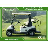 Buy cheap 2 Person Mini Electric Golf Carts 25Km / H 48V Trojan Battery CE Approved from wholesalers