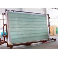 Cheap Clear / Tint Laminated Tempered Safety Glass , Solid tempered window glass wholesale