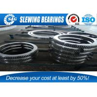 loading (unloading) machinery double row slew bearing with different steel balls