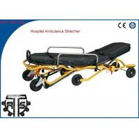 Cheap Auto Loading Ambulance Stretcher Stainless Steel Foldable for Emergency Rescue for sale