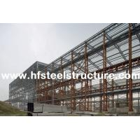 Cheap Custom Structural Industrial Steel Buildings For Workshop, Warehouse And Storage for sale