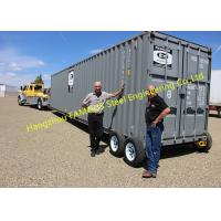 Cheap Modern Design Shipping Prefab Container House On Wheels Tiny Container Home for sale