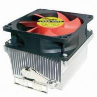 China CPU Cooler, Apply to AMD Socket AM2 754,939,940 and AMD Athlon 64 4800+, 80 x 80 x 25mm Fan Size on sale