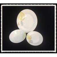 China 12pcs ceramic porcelain dinner set with flower decal on sale