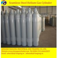 Cheap 50L steel high pressure helium gas cylinder filled helium gas for sale