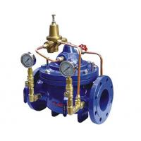 Cheap Diaphragm Type Hydraulic Control Valves , Automatic Main Emergency Water Shut Off Valve wholesale