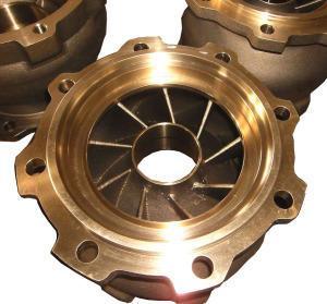 Bronze Pump Bowl (12 Inch)