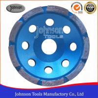 Cheap 115mm Single Row Diamond Turbo Cup Wheel , Floor Grinding , Grinder Wheel for sale