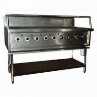 China Reef/Beef Gas BBQ Grill with 9 Burner, Available in Natural Gas and LPG on sale