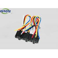 Cheap 5 Pins SPDT Type Auto Wiring Harness With Slide Wires 3 Pack 12 Volt With Plastic Socket for sale